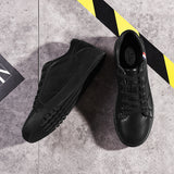Fashion Black Lace Up Men Casual Shoes - TrendSettingFashions