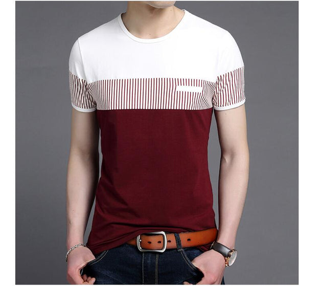 Men's Short Sleeve Fashion Button Up