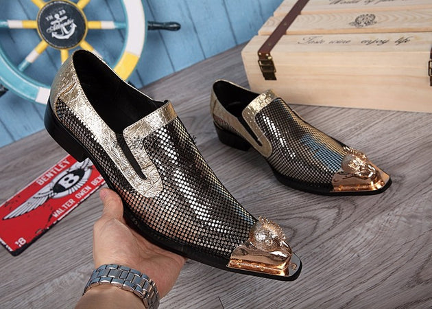 Men's Sparkling Oxfords In 2 Colors - TrendSettingFashions
