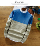 Men's Fashion Print Cashmere Pullover - TrendSettingFashions