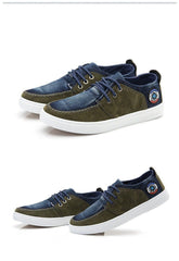 Men's Canvas Lace Up's - TrendSettingFashions   - 2