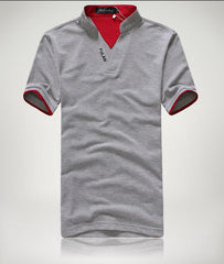 Men's Short Sleeve Solid Polo Shirt - TrendSettingFashions   - 4