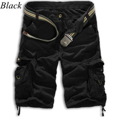 Men's Cargo Shorts with Side Zippers - TrendSettingFashions   - 2