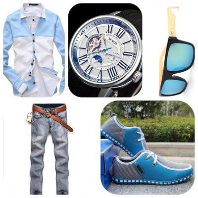 The Blue Ice - TrendSettingFashions