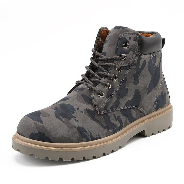 Men's Camouflage Martin Boots - TrendSettingFashions