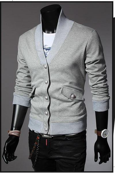 Men's Outerwear Button Up - TrendSettingFashions