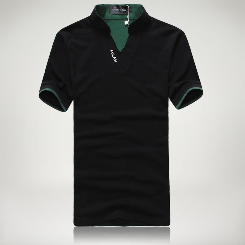 Men's Short Sleeve Solid Polo Shirt - TrendSettingFashions   - 5