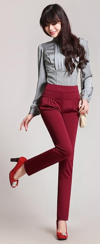 Women's Harem Slacks - TrendSettingFashions