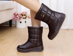 Trendy Waterproof Snow Boots - TrendSettingFashions   - 2