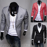 Men's Fashion 2 Button Suit Jacket - TrendSettingFashions