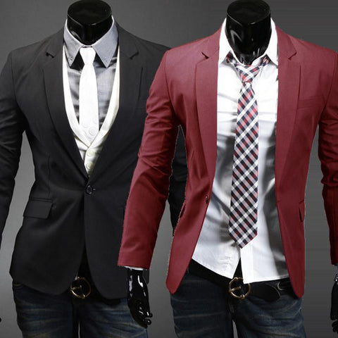 Men's Casual Suit Jacket