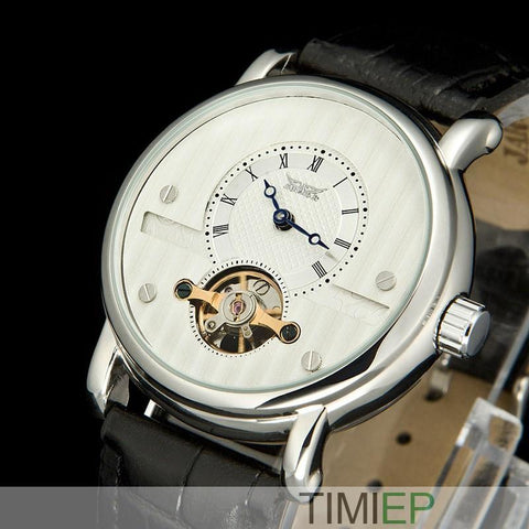 Men's Trendy White Dial Watch