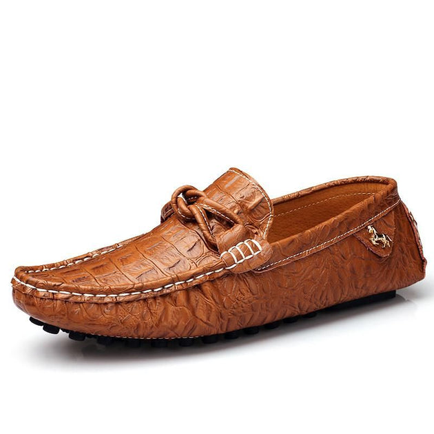 Men's Leather Moccasin Gommino Shoes - TrendSettingFashions