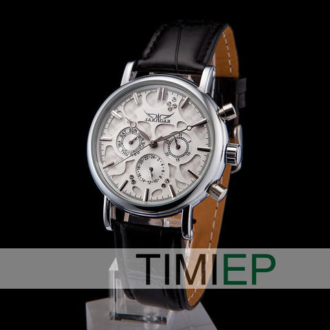 Men's Fashion White Dial Watch