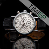 Men's Fashion White Dial Watch - TrendSettingFashions