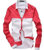 Men's 2 Tone Cardigan - TrendSettingFashions