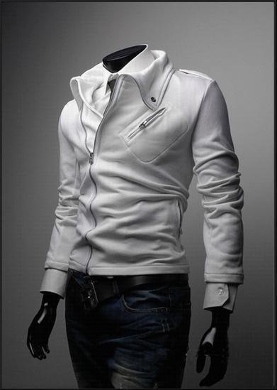 Men's Fashion Zip Up Jacket - TrendSettingFashions   - 1
