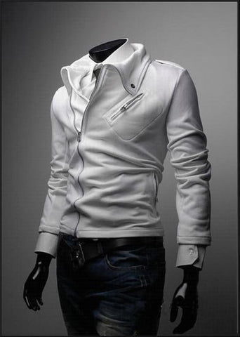 Men's Fashion Zip Up Jacket