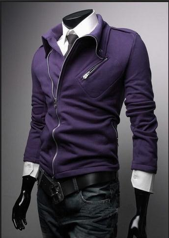 Men's Fashion Zip Up Jacket - TrendSettingFashions   - 3