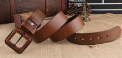 Genuine Leather Fashion Belt - TrendSettingFashions   - 4