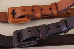 Genuine Leather Fashion Belt - TrendSettingFashions   - 1