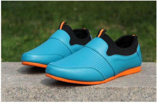 Men's Fashion Breathable No Lace Shoes! - TrendSettingFashions
