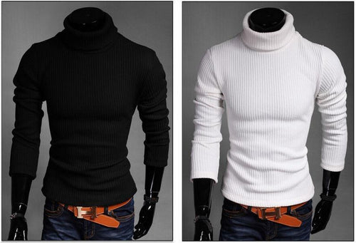 Men's Turtle Neck Sweater - TrendSettingFashions