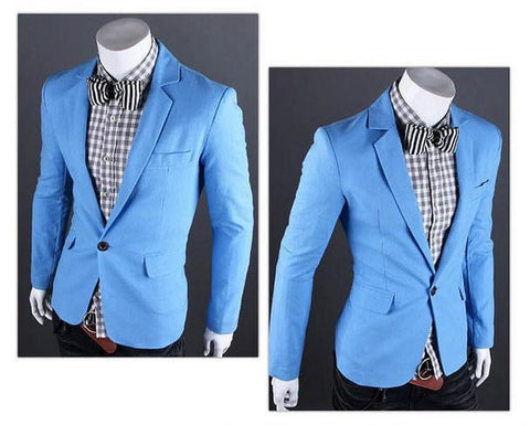 Men's Fashion Casual Suit Jacket