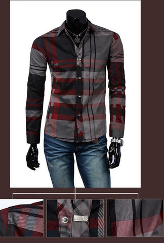 Men's Fashion Flannel