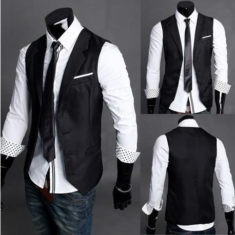 Men's Dress Vest - TrendSettingFashions   - 1