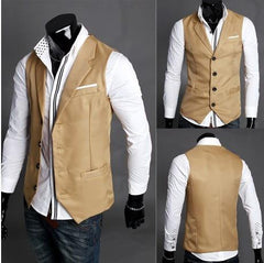 Men's Dress Vest - TrendSettingFashions   - 2