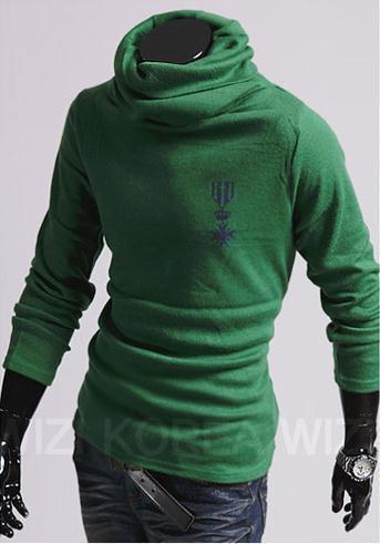 Men's Turtle Neck Pullover - TrendSettingFashions   - 2