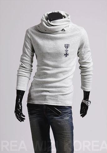 Men's Turtle Neck Pullover - TrendSettingFashions   - 1