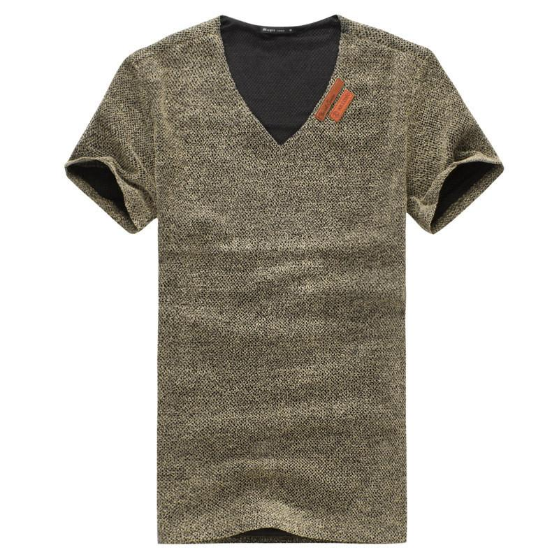 Men's Cotton Fashion T-Shirt with PLUS sizes - TrendSettingFashions   - 1