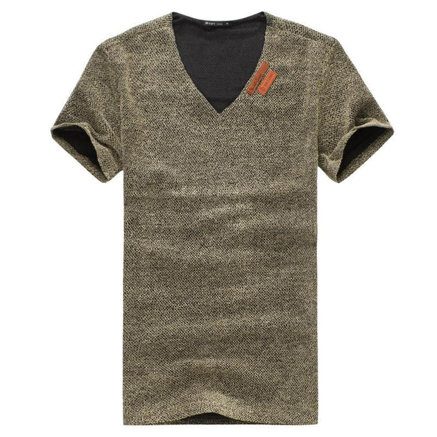 Men's Cotton Fashion T-Shirt with PLUS sizes - TrendSettingFashions