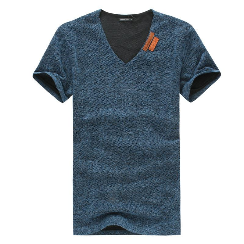 Men's Cotton Fashion T-Shirt with PLUS sizes - TrendSettingFashions   - 2