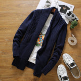 Men's Knitted Fashion Cardigan - TrendSettingFashions