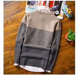 Men's Thick Solid Pullover - TrendSettingFashions