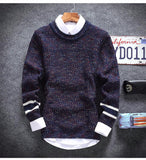 Men's Thick Knit Pullover - TrendSettingFashions