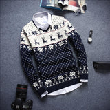 Men's Holiday Deer Sweater - TrendSettingFashions