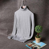 Men's Cotton Fashion Turtleneck - TrendSettingFashions