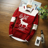 Men's Deer Holiday Sweater - TrendSettingFashions