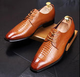 Men's Italian Designer Dress Shoes In 3 Colors - TrendSettingFashions