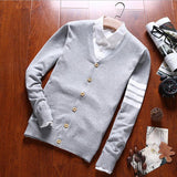 Men's Classic Button Up Cardigan - TrendSettingFashions
