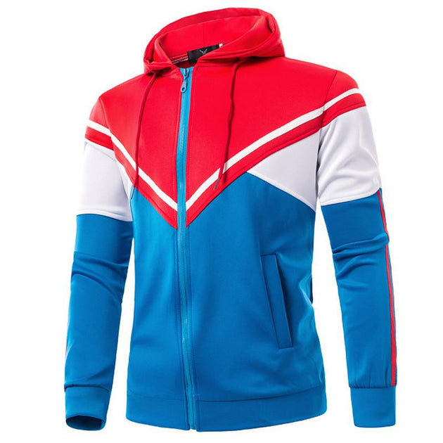Men's Hooded Zip Up Sweater - TrendSettingFashions