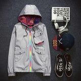 Men's Zip Up Windbreaker - TrendSettingFashions