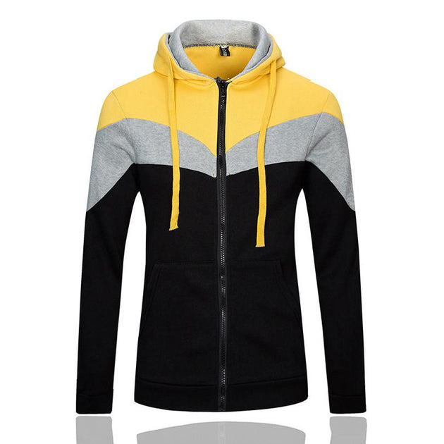 Men's Zip Hoodie - TrendSettingFashions