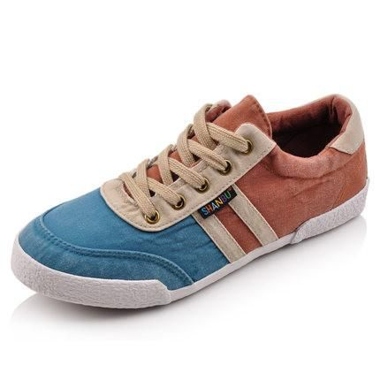 Men's Mixed Colored Lace Up - TrendSettingFashions