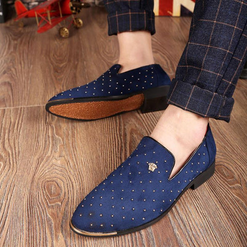 Men's Fashion Toe Business Flats