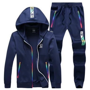 Men's 2 Peice Tracksuit Up To 5XL - TrendSettingFashions